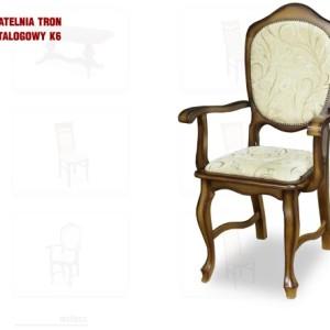 krzesło patelnia tron k6