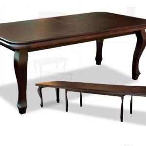 stół zaowalony 084