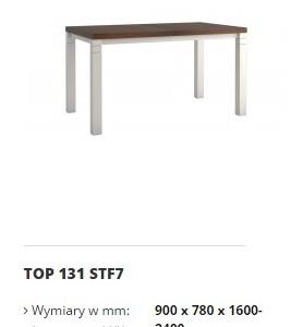topaz stół top 131 STF7