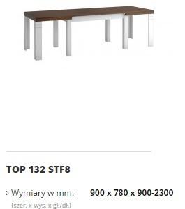 topaz stół top 132 STF8