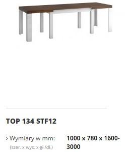 topaz stół top 134 STF12
